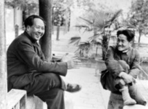 Mao et son fils Anying en 1949 (DR)