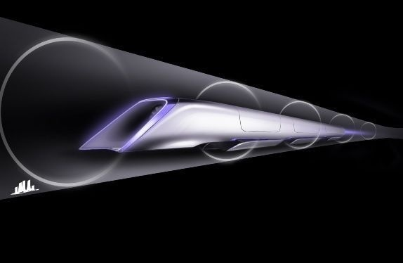 Crédit photo : Hyperloop/Tesla Motors