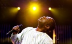  Youssou N'Dour en 2008 au Festival de Jazz de Montreux, Suisse. Photo : Fabrice Coffrini / AFP